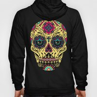 Deco Sugar Skull 3 Hoody
