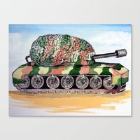 Think Tank Canvas Print