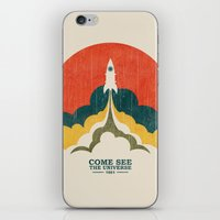 Come See The Universe iPhone & iPod Skin
