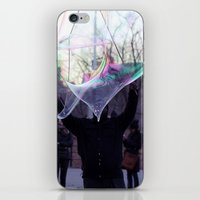 The Bubble Maker iPhone & iPod Skin