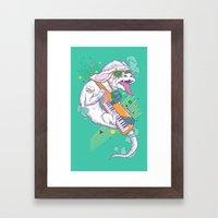NeverEnding Solo Framed Art Print