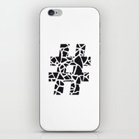 Hashtag iPhone & iPod Skin