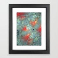 String Theory Fractal Art Framed Art Print