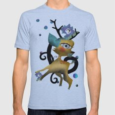Delicious Light and Transparency  Mens Fitted Tee Athletic Blue SMALL