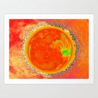 Luna Solar Art Print