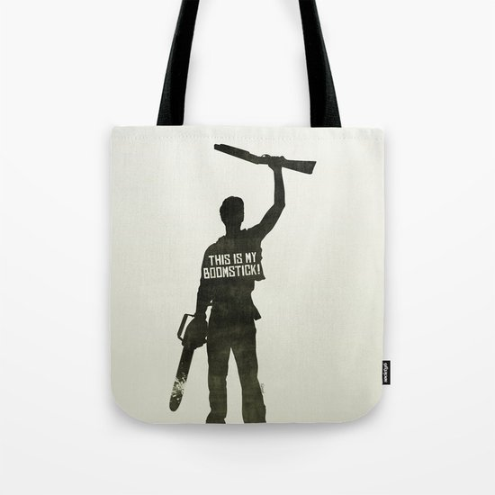 This is my Boomstick! Minimalist Poster Tote Bag