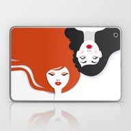 Beauty Comes In All Colo… Laptop & iPad Skin