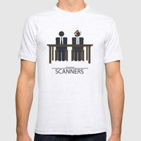 Scanners - Altenative Movie Poster Mens Fitted Tee Ash Grey SMALL