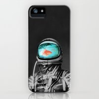 iPhone 5/5s Case featuring Underwater astronaut by Budi Kwan
