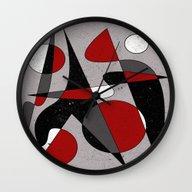 Abstract #106 Wall Clock