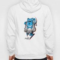 StormBot - Blue Robot Hoody