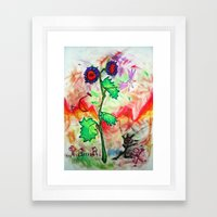 FlowerPower Framed Art Print