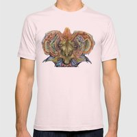 1001 Years Mens Fitted Tee Light Pink SMALL