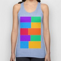 Patched Together Unisex Tank Top