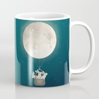 moon bunnies Mug