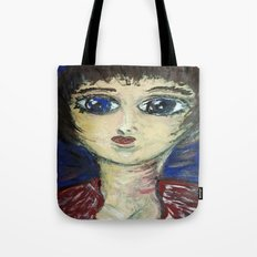 THE GIRL WHO PROTECTED OTHERS FROM TRENT Tote Bag