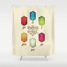 Legend of Zelda - Tingle's The Rupees of Hyrule Kingdom Shower Curtain