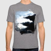 Sky Mens Fitted Tee Tri-Grey SMALL