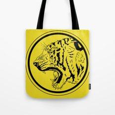 Tiger in a circle Tote Bag