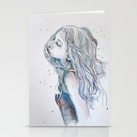 Breeze (variant II), Wat… Stationery Cards
