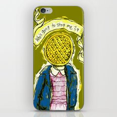 Be Brave Eleven - Eggo head iPhone & iPod Skin