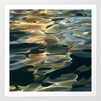 Water / H2O #42 (Water Abstract) Art Print