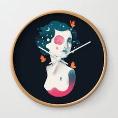 Rebel Girl Wall Clock