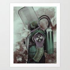 The Fallen Hero Art Print