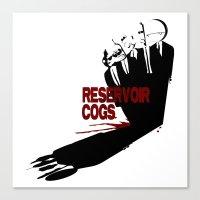Reservoir Cogs Canvas Print