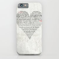 iPhone & iPod Case featuring I hate love by Berta Merlotte