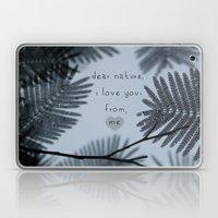 Dear Nature Laptop & iPad Skin
