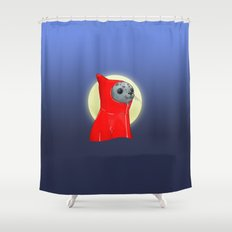 Hooded Seal Shower Curtain
