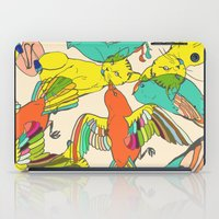 CATS AND BIRDS iPad Case