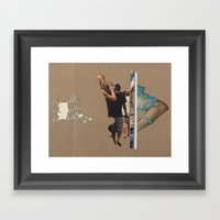 At All At You At Nothing Framed Art Print