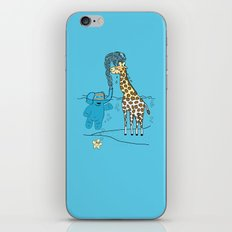 Snorkeling Buddies iPhone & iPod Skin