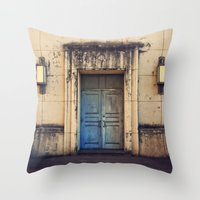 Doors are made to be Open! Throw Pillow