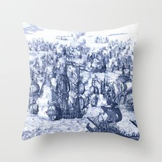 Naval Conquest Throw Pillow