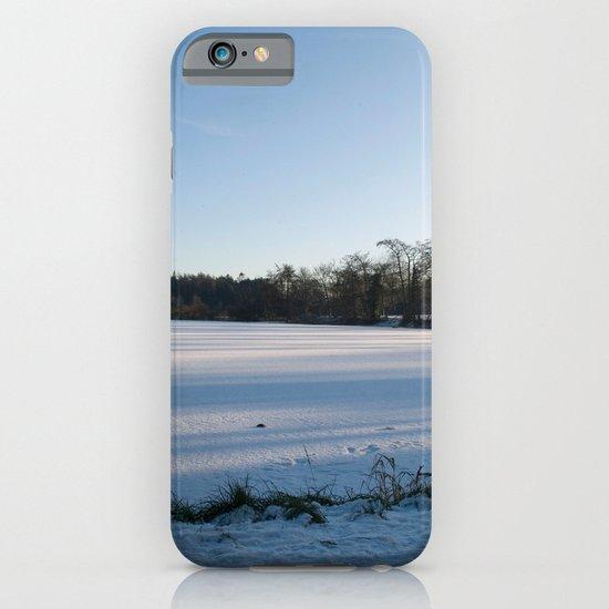 Snowy Lake iPhone & iPod Case