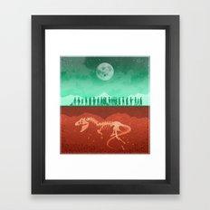 The Dead of Night Framed Art Print