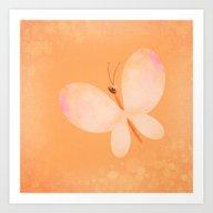 Butterfly. Art Print