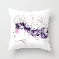 Purple Throw Pillow