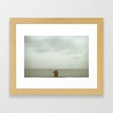 Love in Montreux Framed Art Print