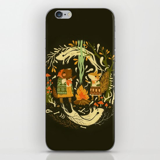 Animal Chants & Forest Whispers iPhone & iPod Skin