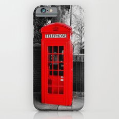 Red Telephone Box iPhone 6s Slim Case