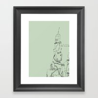 Building II Framed Art Print