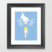 Endometriosis & Depression Framed Art Print