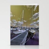 Cowes Marina  Stationery Cards