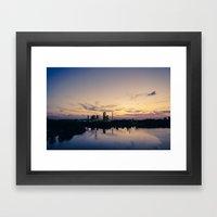 City of Industry Framed Art Print