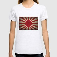 Imperial Japanese Army E… Womens Fitted Tee Ash Grey SMALL