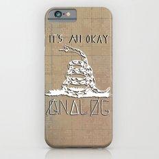 Gnalog (Analog Zine) iPhone 6 Slim Case